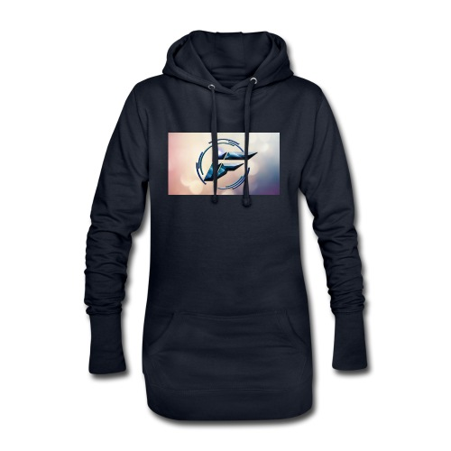 Logo and background - Hoodie Dress