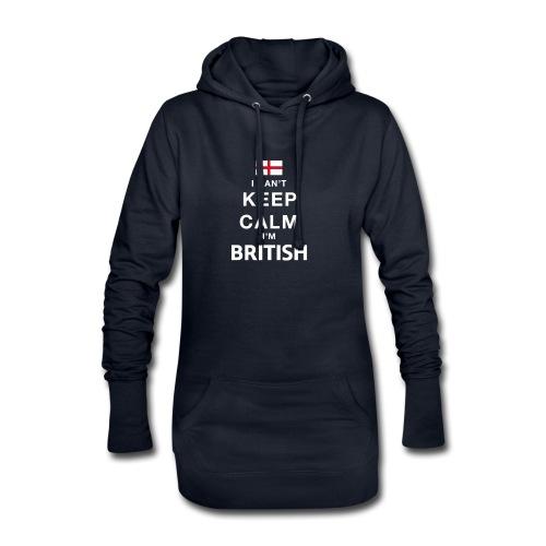 I CAN T KEEP CALM british - Hoodie-Kleid