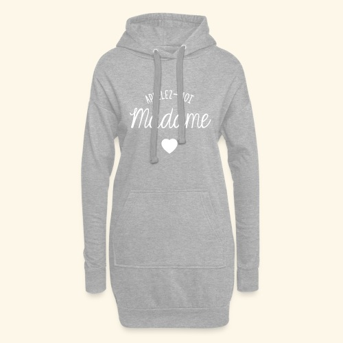 SWEAT APPELEZ MOI MADAME - Sweat-shirt à capuche long Femme