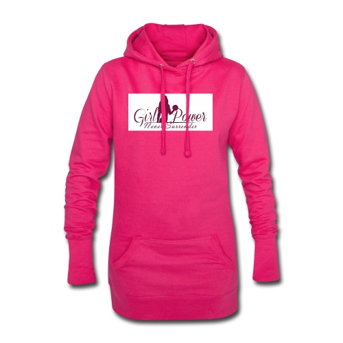 GIRL POWER NEVER SURRENDER - Sudadera vestido con capucha