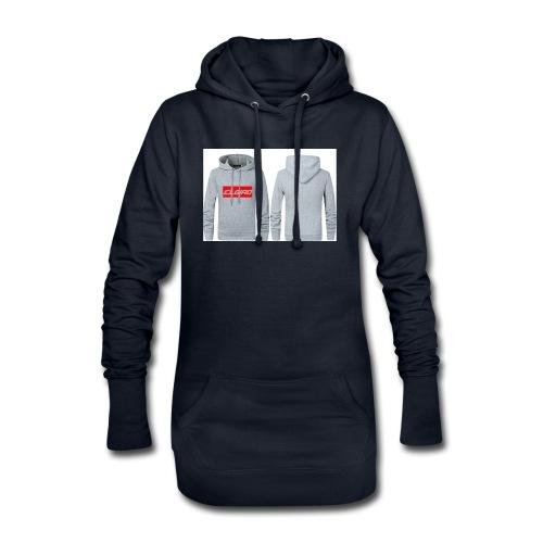 elgiro gray hoodie - Hoodie Dress