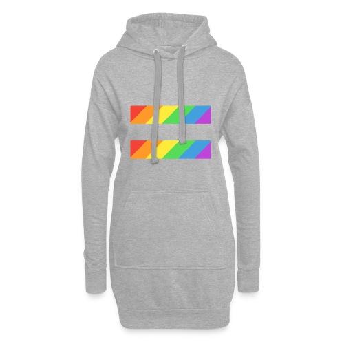 LGBTQ Equality Pride Logo - Hoodie Dress