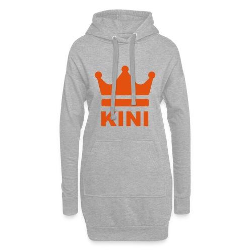KINI ist König - Hoodie-Kleid