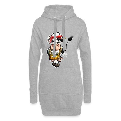 Thug Cow / Gangster Kuh - Hoodie-Kleid