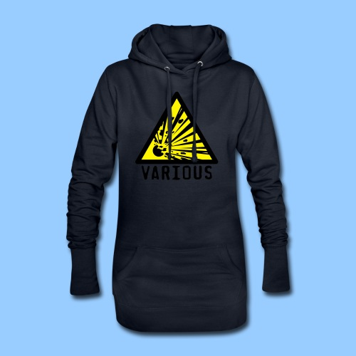 VariousExplosions Triangle (2 colour) - Hoodie Dress