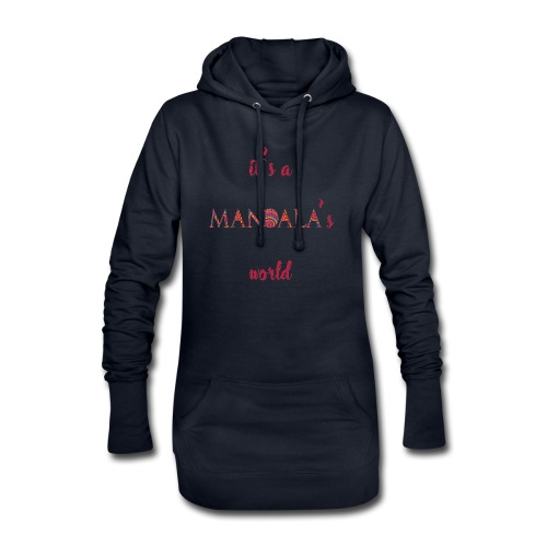 It's a mandala's world - Hoodie Dress