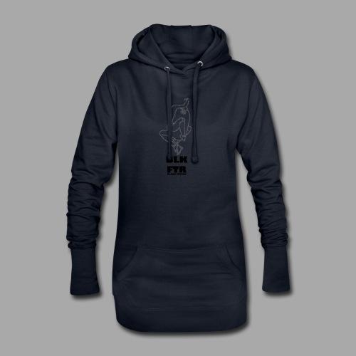 BLK FTR N°7 - Vestitino con cappuccio
