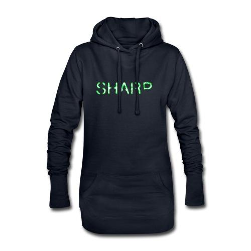 Sharp Clan black hoodie - Hoodie Dress