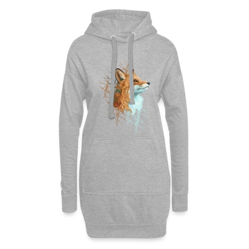 Happy the Fox - Hoodie-Kleid