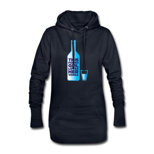 Girl loves Vodka - Hoodie-Kleid