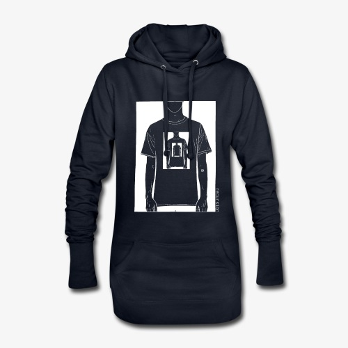 Recursion inverted | Geek | Art | Loop | - Hoodie Dress