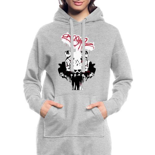 Tiger Samtig Weich - Hoodie-Kleid
