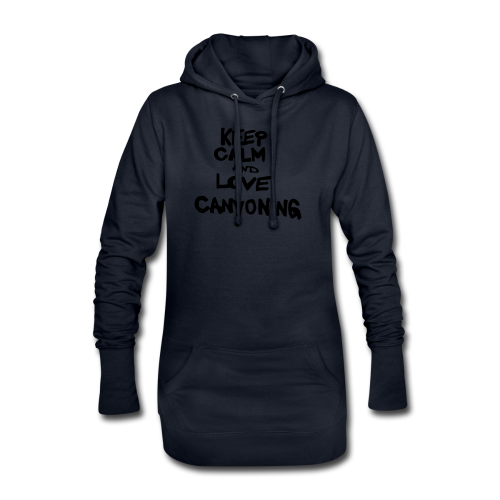 keep calm and love canyoning - Hoodie-Kleid