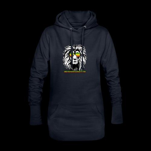 RASTA REGGAE LION - Hoodie-Kleid