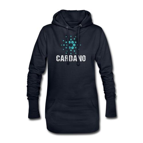 Cardano Ada Logo Cryptos Vintage - Hoodie-Kleid