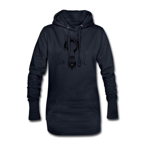 Fleur de Lys - Sweat-shirt à capuche long Femme