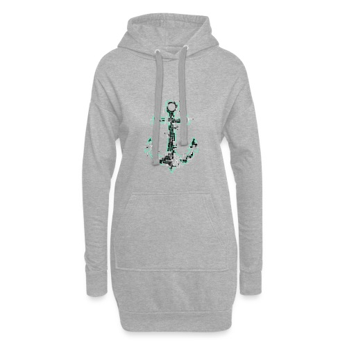 Cyber Anker Tshirt ✅ Elektro Anker Tshirt - Hoodie-Kleid