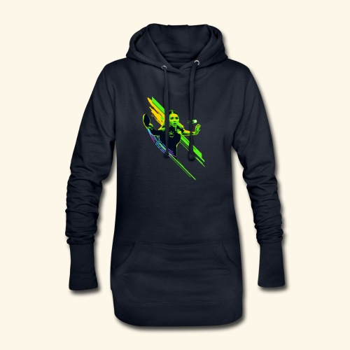Eyes on the ball and focus playing the game - Hoodie-Kleid