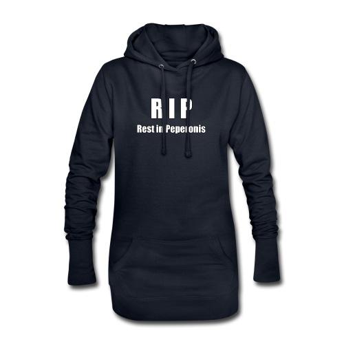 RIP Rest in Peperonis - Hoodie-Kleid