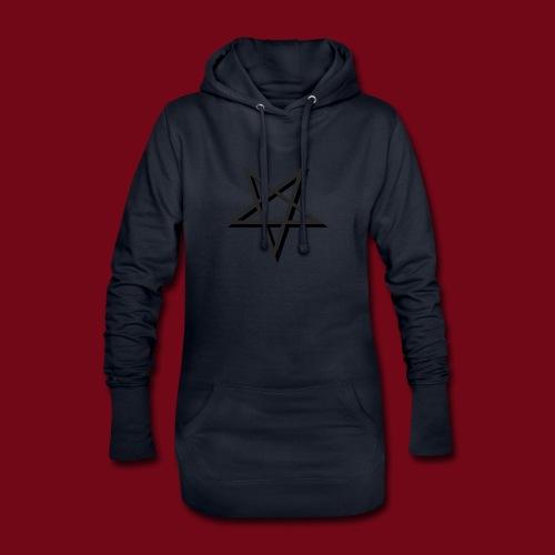 Pentagramm - Hoodie-Kleid