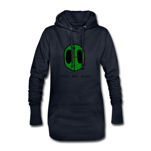 They Are Real - Hoodie Dress