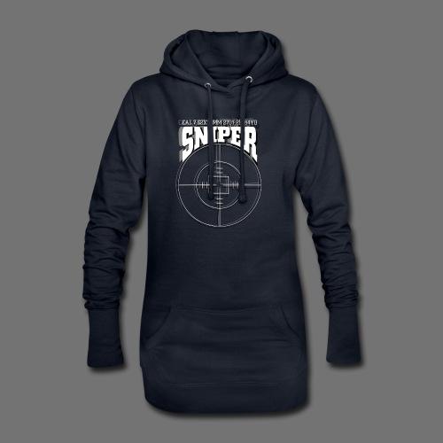Sniper (white) - Hoodie-Kleid