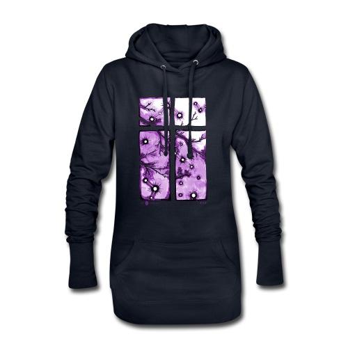 Für immer und ein Tag (violett) - Hoodie-Kleid