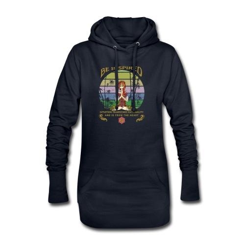 Lass dich inspirieren und folge deiner Intuition - Hoodie-Kleid