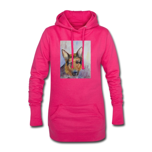 german shepherd wc - Hoodie-kjole