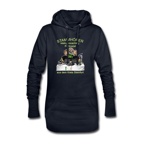 Stammhörer-Shirt - Hoodie-Kleid