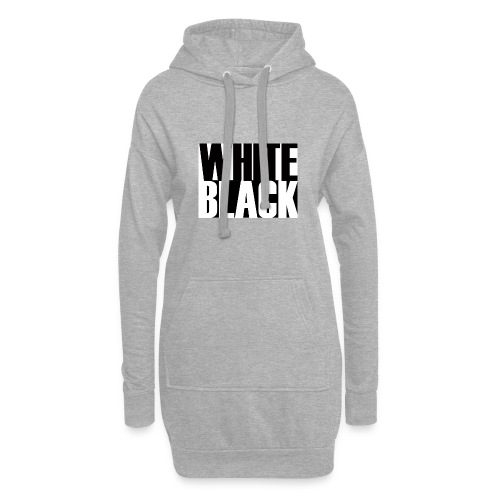 White, Black T-shirt - Hoodiejurk