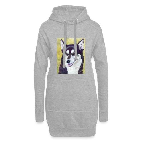 Siberian husky - Hoodie-kjole