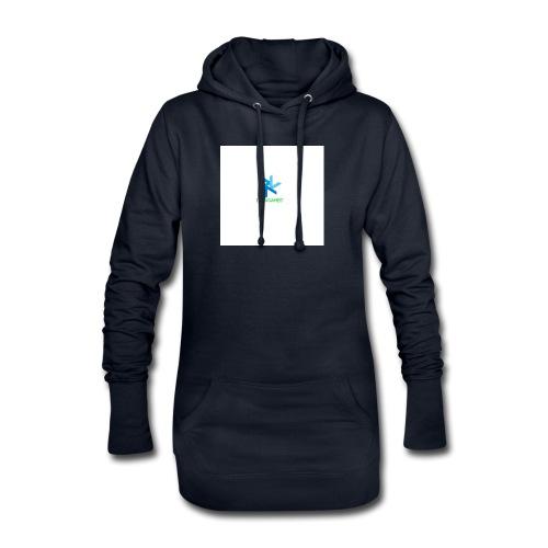 DeoxGames Camiseta - Sudadera vestido con capucha
