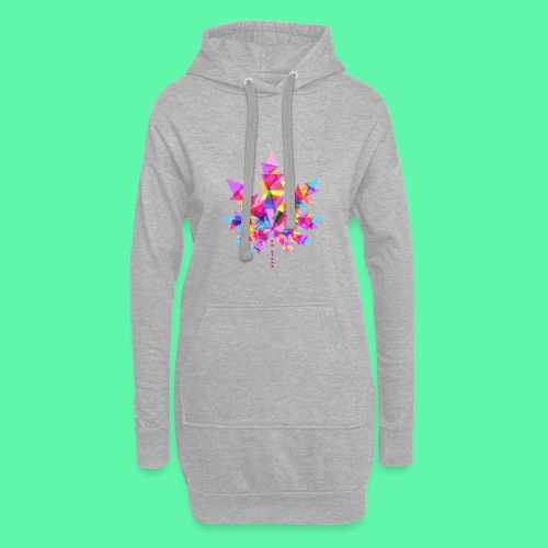 Mary Jane pink - Hoodie-kjole