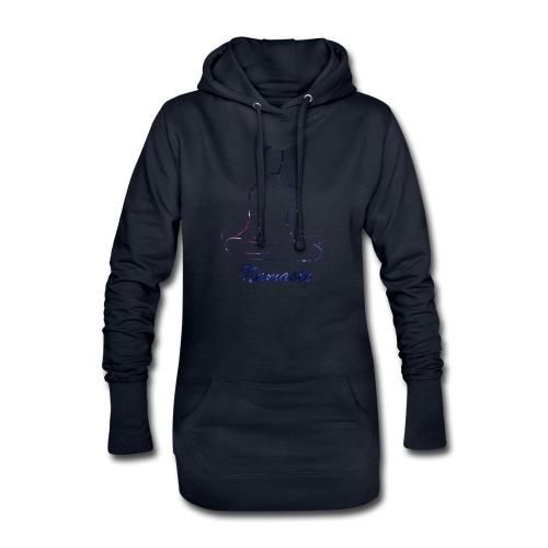 namaste - Sudadera vestido con capucha