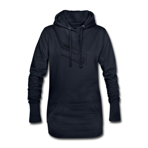 2004LCD (no text). - Hoodie Dress