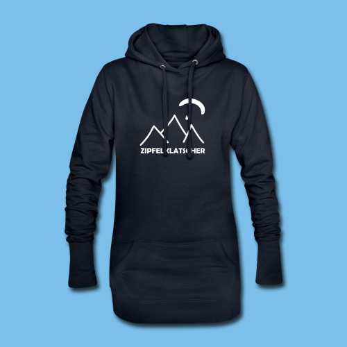 gleitschirmflieger paragliding geschenk T-shirt - Hoodie-Kleid