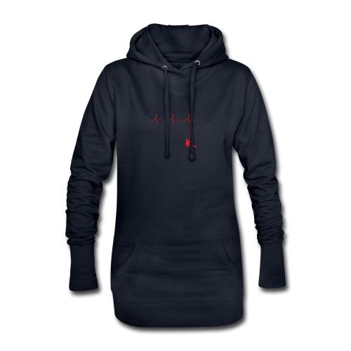 Love Rappelling ECG - Hoodie Dress