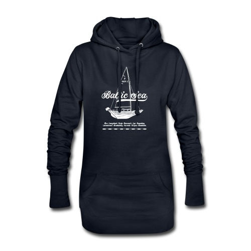 Baltic Sea Folkeboot - Hoodie-Kleid