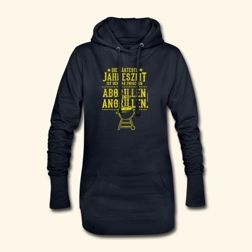 Grill-T-Shirt Grillsaison Abgrillen Angrillen - Hoodie-Kleid