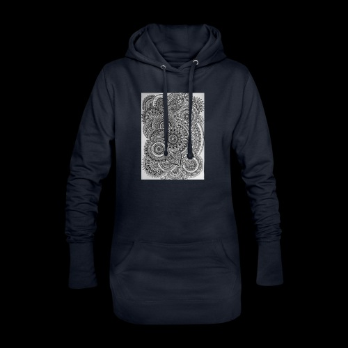 Chaos and Symmetry // - Hoodie Dress