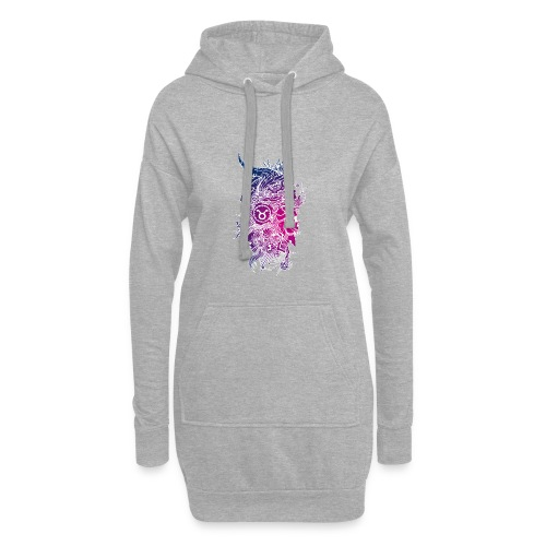 Taurus Skull Zodiac Sign - Hoodie Dress