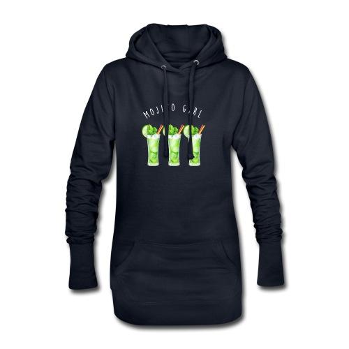 mojito girl - Sweat-shirt à capuche long Femme