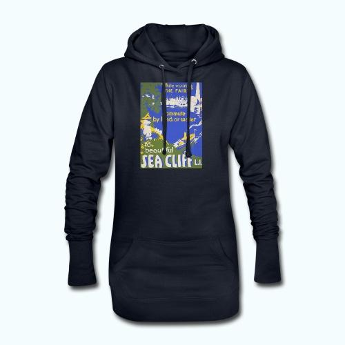 Lake travel vintage poster - Hoodie Dress