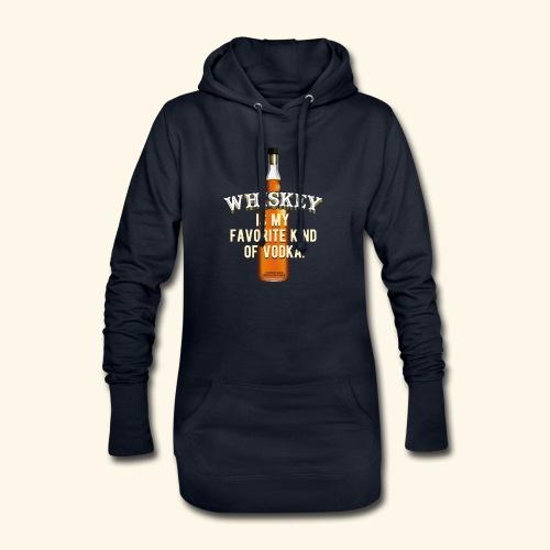 Whiskey Is My Favorite Kind Of Vodka TShirt Design - Hoodie-Kleid