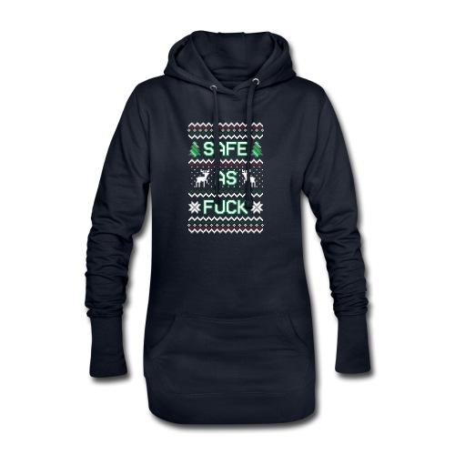 Christmas Jumper Safe AF - Hoodie Dress