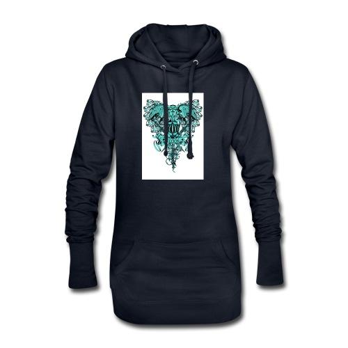 tee template426 - Sweat-shirt à capuche long Femme