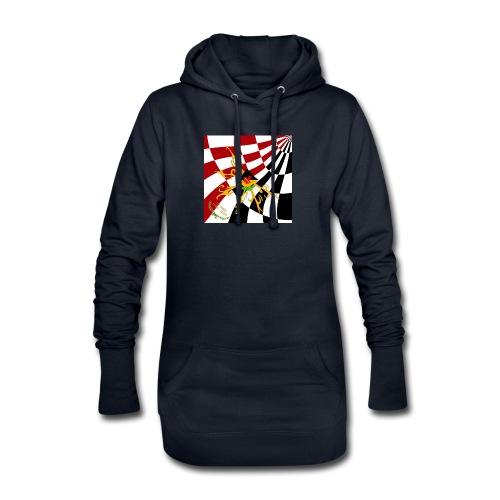 Spilla Flag - Vestitino con cappuccio