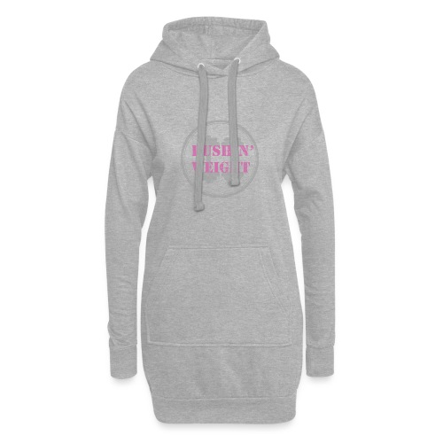Pushing Weight pink - Hoodiejurk