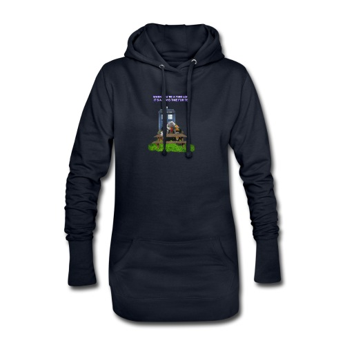 TIME AND SPACE AND TEA - Hoodie Dress